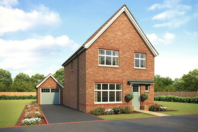 "Thumbnail Detached house for sale in ""Warwick"" at Woodborough Road, Winscombe"