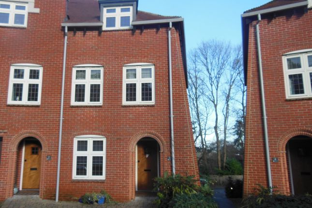 Thumbnail End terrace house to rent in Highcroft Road, Winchester