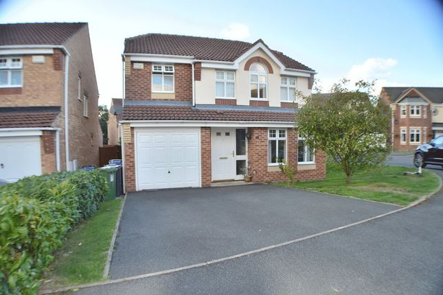 Thumbnail Detached house for sale in Hill Bank Close, Stalybridge