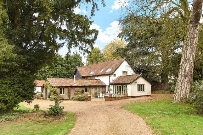 Thumbnail Barn conversion for sale in Whinburgh Road, Yaxham, Dereham
