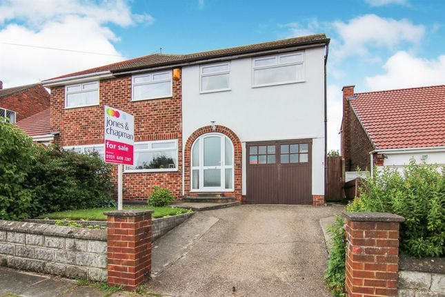 Thumbnail Semi-detached house for sale in Bramwell Avenue, Prenton