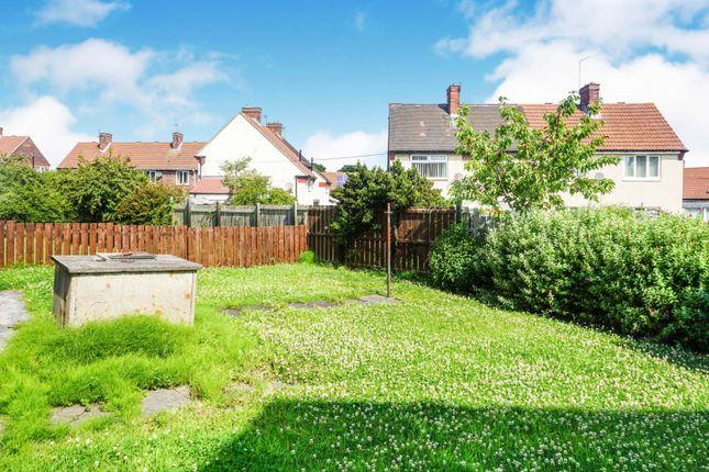 Rear Garden of Wedgewood Road, Seaham SR7