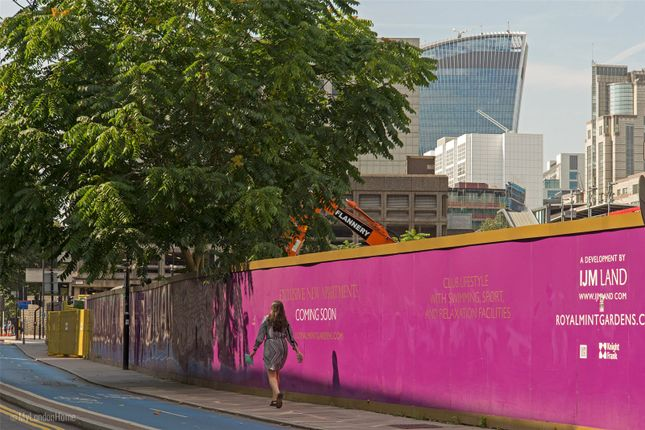 Thumbnail Flat for sale in Royal Mint Gardens, Royal Mint Street, Tower Hill, London