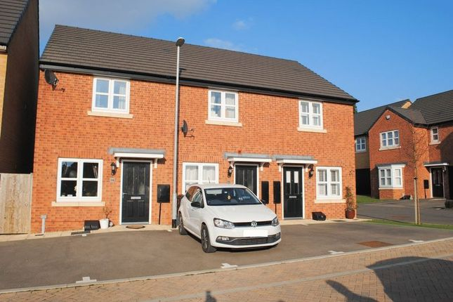 Thumbnail End terrace house for sale in Blackcurrant Grove, Higham Ferrers, Rushden