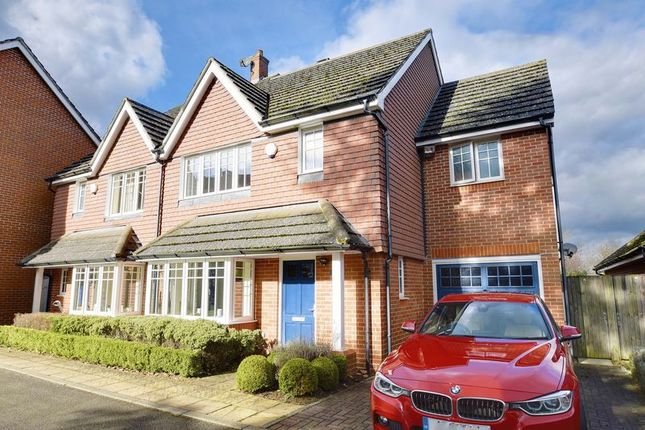 Thumbnail Semi-detached house to rent in Brightwen Grove, Stanmore