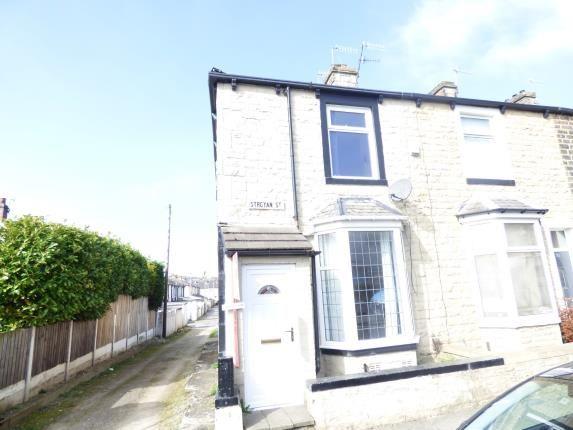 Front of Stroyan Street, Burnley, Lancashire BB10