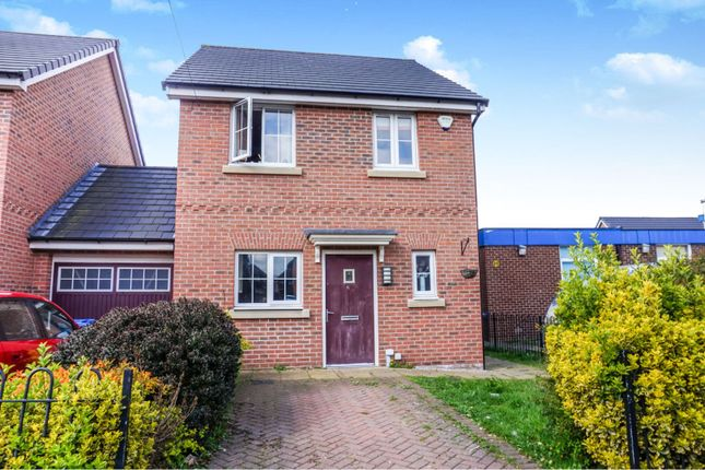 Link-detached house for sale in Constable Street, Manchester