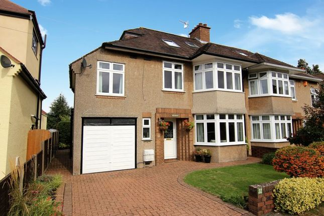 Thumbnail Semi-detached house for sale in Cote Park, Westbury-On-Trym, Bristol