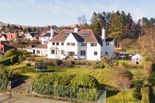 Thumbnail Detached house for sale in Drimard, 22 East Lennox Drive, Helensburgh, Argyll And Bute