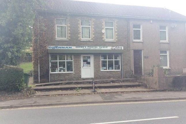 Thumbnail Retail premises for sale in Bryn Road, Blackwood