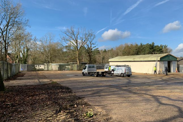 Thumbnail Land to let in Former Travis Perkins Site, Holmbush Potteries, Faygate
