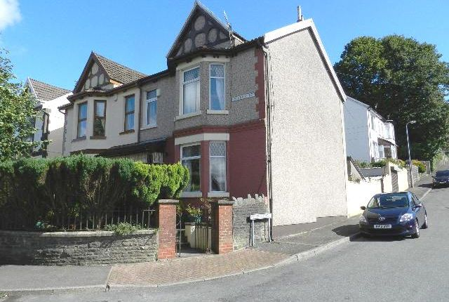 Thumbnail Semi-detached house for sale in Vicarage Road, Penygraig
