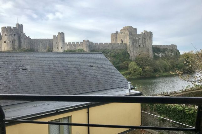 Thumbnail Flat for sale in Flat 18, North Quay Court, The Green, Pembroke