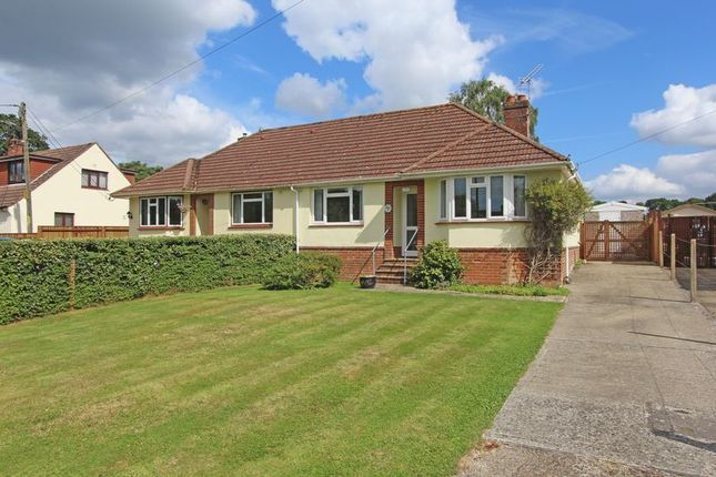 Thumbnail Semi-detached bungalow for sale in Woodlands Road, Woodlands, Southampton