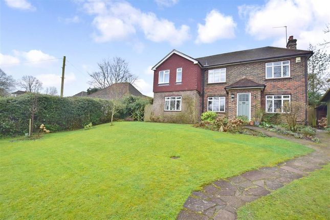 Thumbnail Detached house for sale in Straight Half Mile, Maresfield, East Sussex