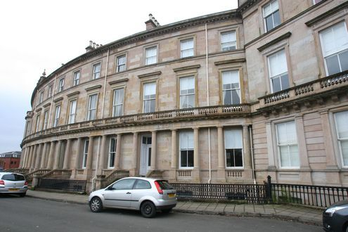 Thumbnail Flat to rent in Crown Circus, Dowanhill