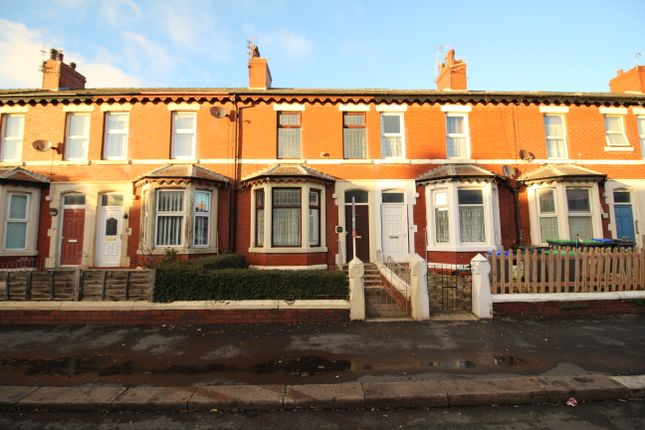 Thumbnail Terraced house to rent in Hawthorn Road, Blackpool