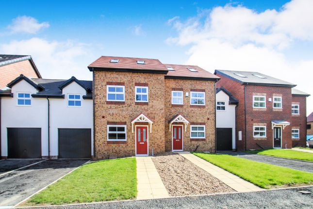 Thumbnail Town house for sale in The Rossland, Woodhouse Vale, Pepper Road, Leeds
