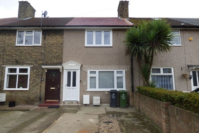 Thumbnail Terraced house to rent in Rowdowns Road, Romford