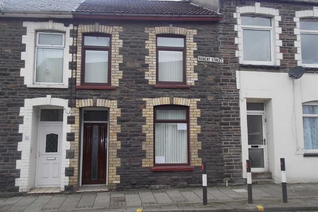 Thumbnail Terraced house to rent in Robert Street, Ynysybwl, Pontypridd
