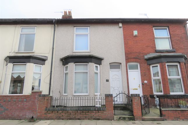 Thumbnail Terraced house to rent in Tattersall Road, Liverpool