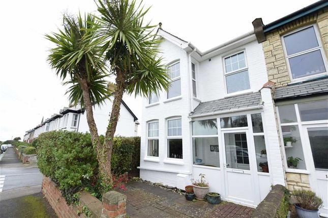 Thumbnail Semi-detached house for sale in Flexbury Park Road, Bude