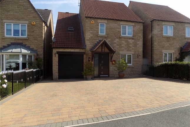 Thumbnail Detached house for sale in Grange Gardens, Loscoe, Heanor, Derbyshire