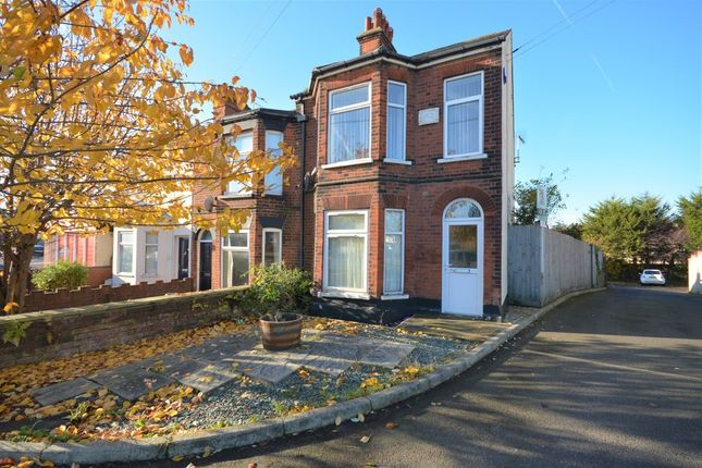 Thumbnail Flat for sale in Gorleston Road, Oulton, Lowestoft