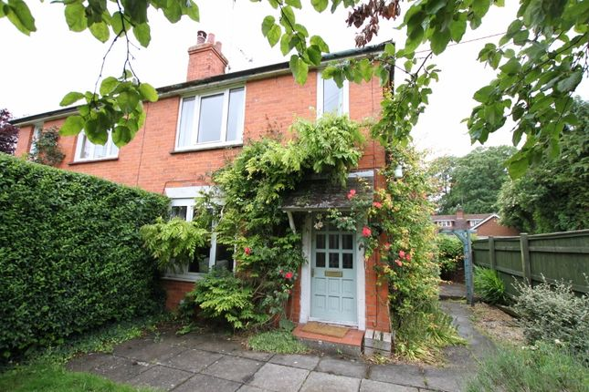 Thumbnail Semi-detached house for sale in St Mary Bourne, Andover, Hampshire
