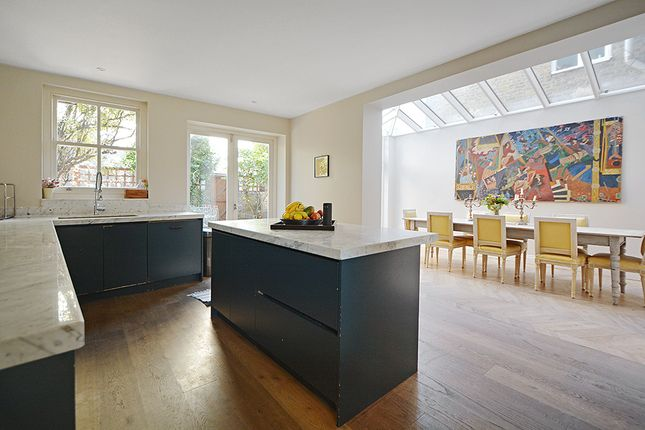 Thumbnail End terrace house to rent in Clapham Common Northside, London