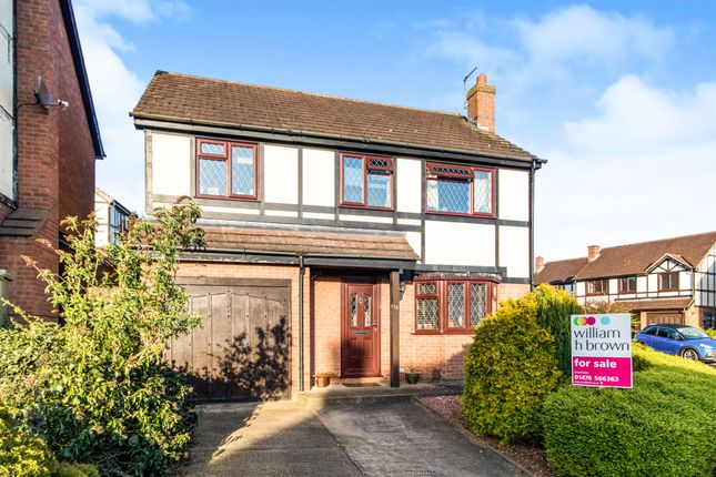 Thumbnail Detached house for sale in Lincoln Close, Grantham