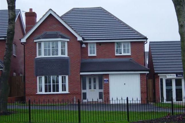 Thumbnail Detached house to rent in Aqua Place, Rugby