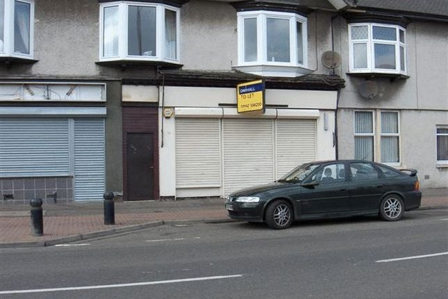 Retail premises to let in Wellesley Road, Methil, Fife