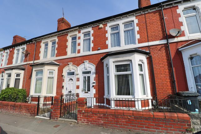 Thumbnail Terraced house for sale in Maes-Y-Cwm Street, Barry