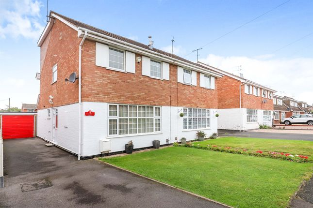 Thumbnail Semi-detached house for sale in Silver Birch Drive, Kidderminster