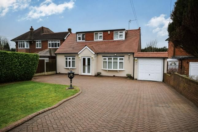 Thumbnail Bungalow for sale in Wood Lane, Streetly, Sutton Coldfield, .
