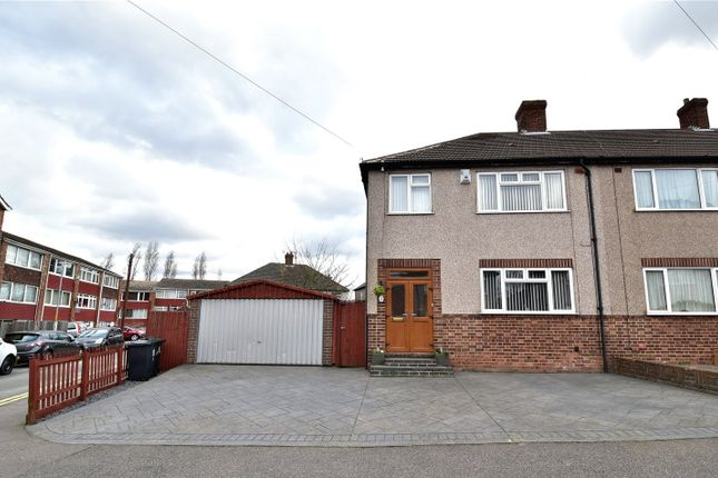 Thumbnail End terrace house for sale in Clarendon Gardens, Dartford, Kent