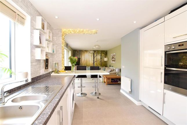 Thumbnail Detached House For Sale In Fellows Gardens Yapton Arundel West Sussex