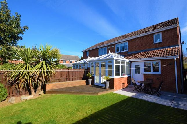 Thumbnail Semi-detached house for sale in Donerston Grove, Peterlee, County Durham