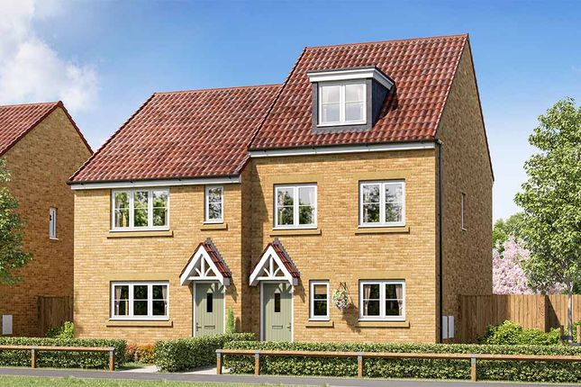 """Thumbnail Property for sale in """"Bamburgh"""" at Foxby Hill, Gainsborough"""