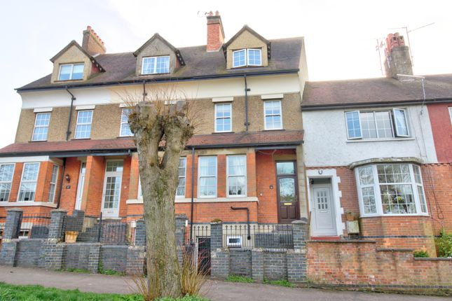 Thumbnail Town house for sale in Rothwell Road, Desborough, Kettering