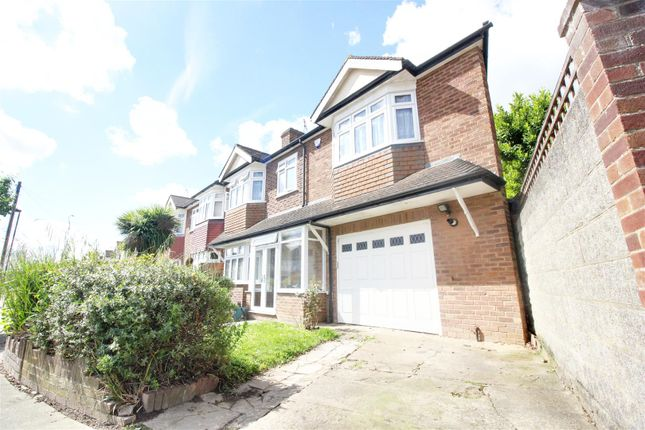 Thumbnail End terrace house for sale in Lynmouth Avenue, Enfield