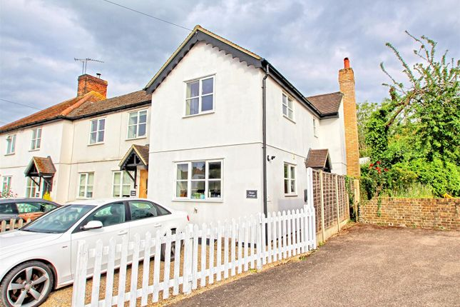 End terrace house for sale in High Street, Hunsdon, Ware