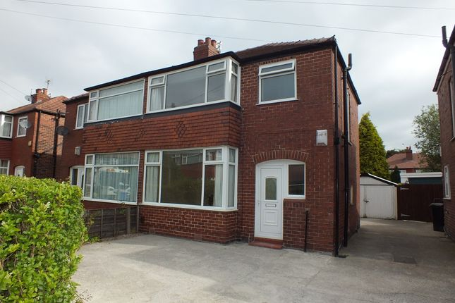 Thumbnail Semi-detached house to rent in Berkeley Close, Offerton, Stockport