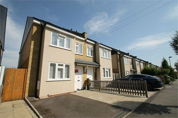 Thumbnail Semi-detached house for sale in Highfield Road, London