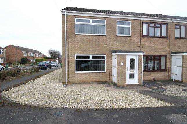 Thumbnail End terrace house for sale in Ancaster Court, Scunthorpe