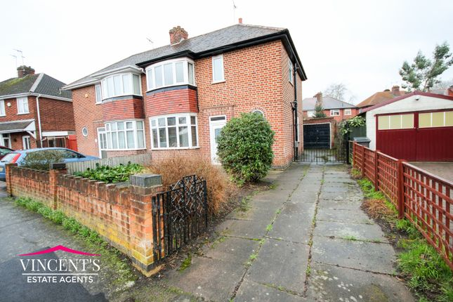 Thumbnail Semi-detached house for sale in Bembridge Close, Leicester