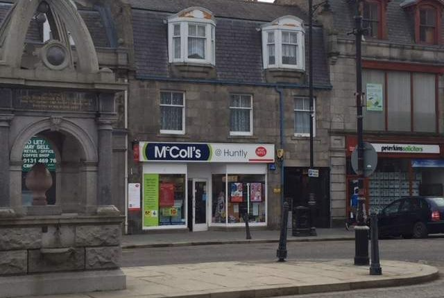 Thumbnail Commercial property for sale in 5 The Square, Huntly, Aberdeenshire
