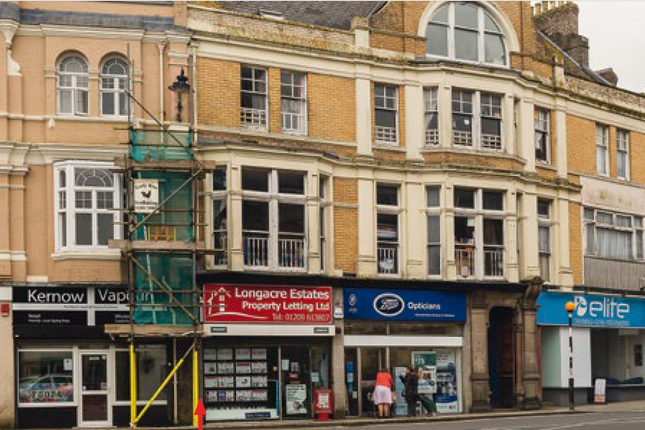 Thumbnail Retail premises for sale in Commercial Street, Camborne