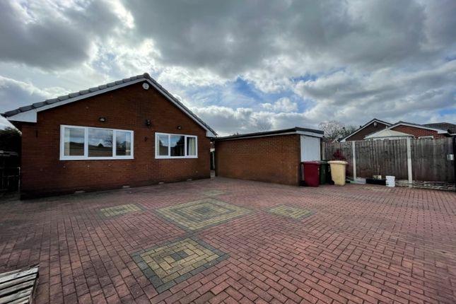 Thumbnail Detached bungalow for sale in The Walkway, Ladybridge